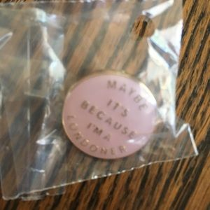Burberry Limited Edition Londoner Broche Pin